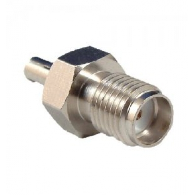 Adapter SMA Female to TS9 Male straight